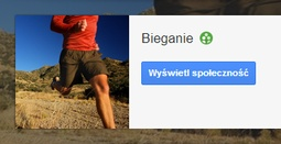 biegania google plus